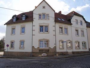Ehemalige Post in Vieselbach Strassenansicht